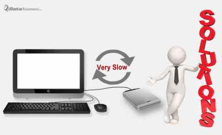 7 Reasons and Solutions for the Issue That External Hard Drive Runs Very Slowly in Data Transfer