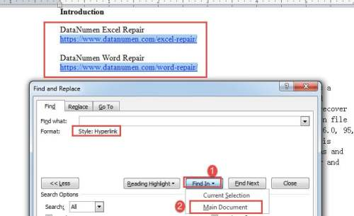 2 Quick Ways to Batch Extract All Hyperlinks from Your Word Document
