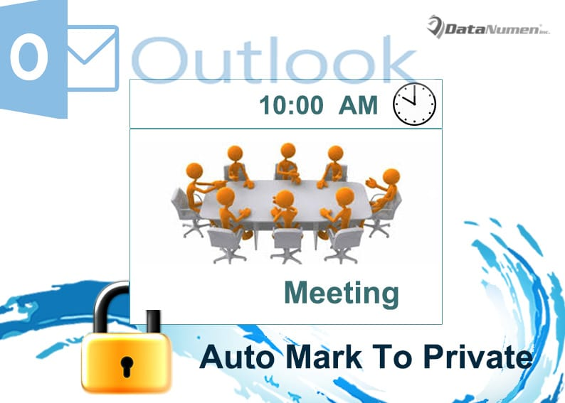 Auto Mark Specific Incoming Meetings as Private