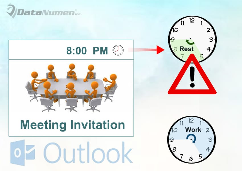 Get a Warning If the Received Meeting Is Scheduled Outside Your Work Hours