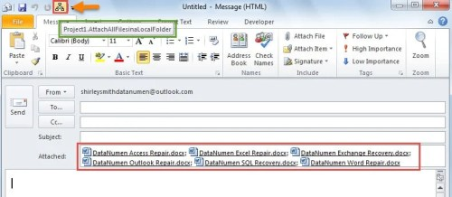 Attach All Files in a Local Folder to an Outlook Email via VBA