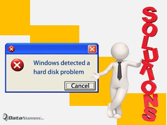 "7 Effective Steps to Fix ""Windows detected a hard disk problem"" Error"