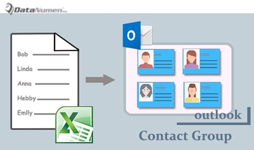 Create a Contact Group from a List of Contacts in an Excel File