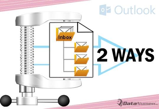 Make a Free Compact PST Tool via Outlook VBA