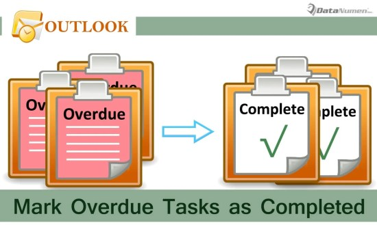 Batch Mark All Overdue Tasks Complete in Your Outlook