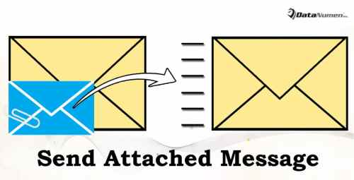 Send Attached Messages as New Email Messages in Outlook