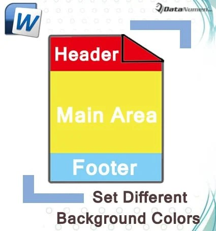 8 Ways to Set Different Background Colors for Header, Footer