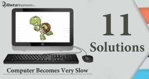 computer runs slowly