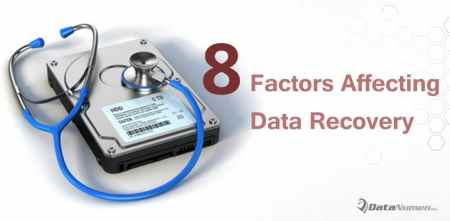 8 Vital Factors Affecting Hard Drive Data Recovery