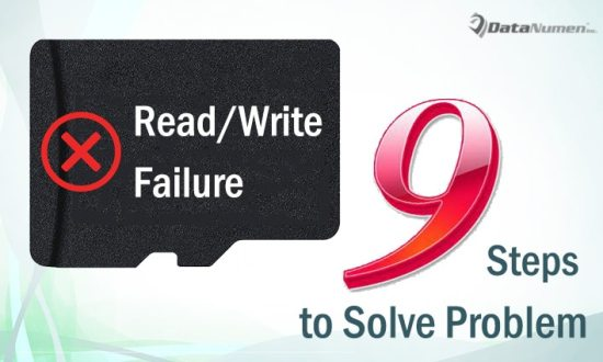 9 Simple Steps to Solve the Problem of Read/Write Failure on Memory Card