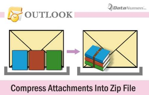 Quickly Compress All Attachments into a Zip File in Your Outlook Email