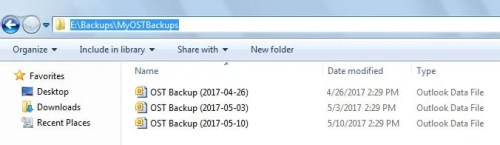 2 Ways to Auto Back Up Your OST File Periodically in Outlook