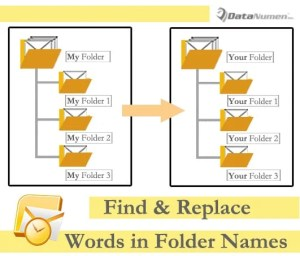 Batch Find & Replace Specific Words in All Outlook Folder Names