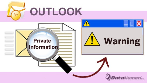 Get a Confirmation before Sending Emails with Your Private Information in Outlook