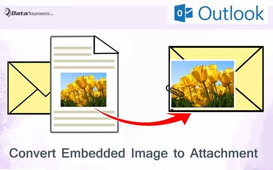 Quickly Convert All Embedded Images to Attachments in Your Outlook Email