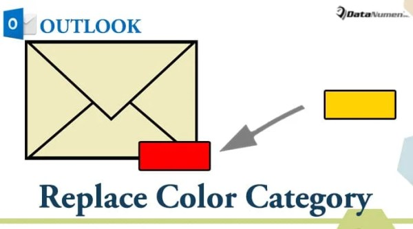 Replace the Color Category of an Outlook Item with VBA