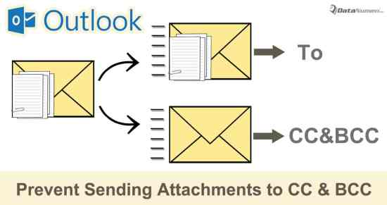 2 Methods to Prevent Sending Attachments to CC & BCC Recipients in Outlook