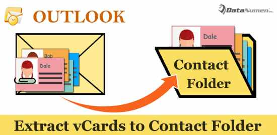 3 Methods to Quickly Add vCard Attachments to Your Contacts Folder in Outlook