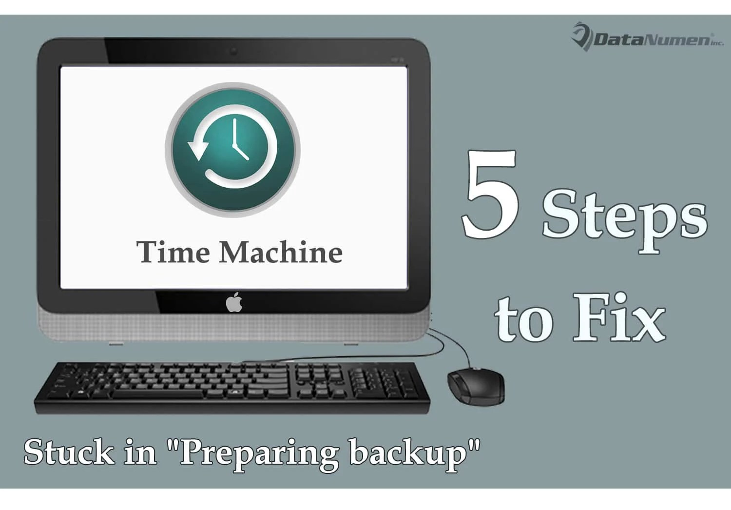 5 Steps To Fix The Issue That Time Machine Is Stuck In