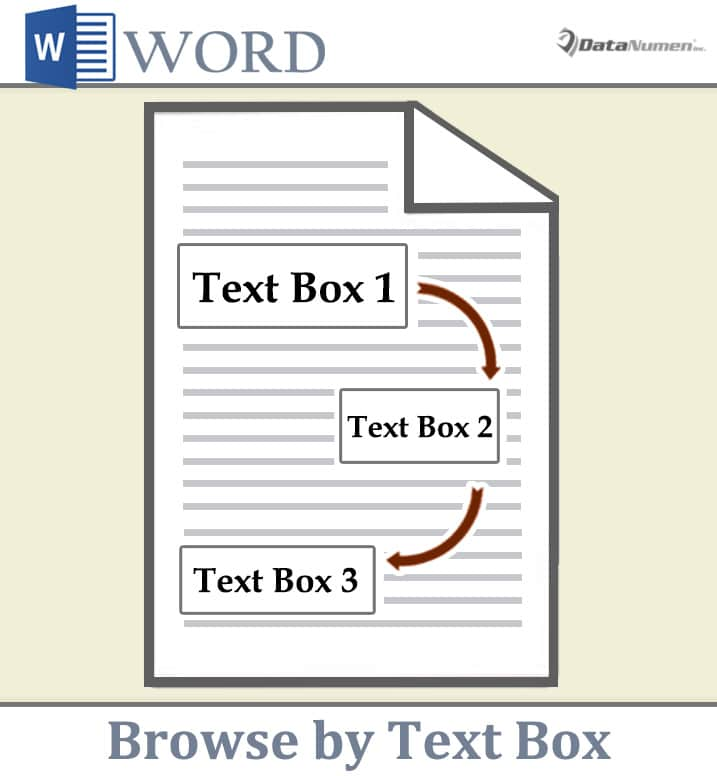 Browse by Text Box in Your Word Document