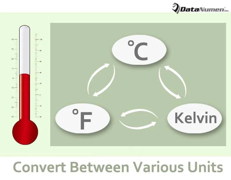 Convert between Various Temperature Units