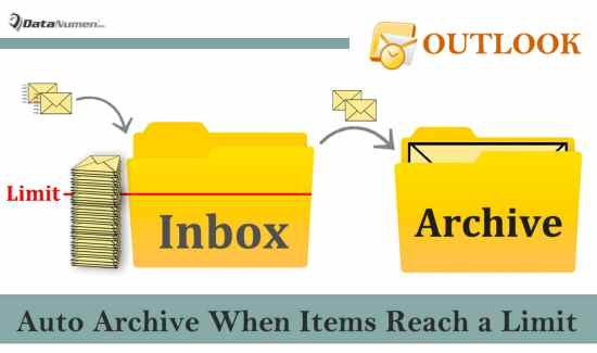 Auto Archive Old Items in Your Outlook Inbox When It is Too Full