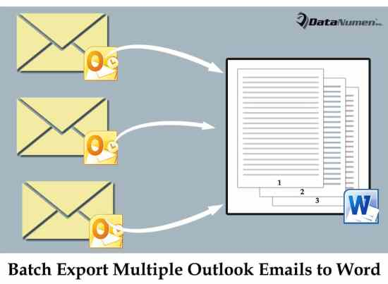 Batch Export Multiple Outlook Emails into One Word Document via VBA