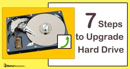 7 Vital Steps to Upgrade Your Computer Hard Drive