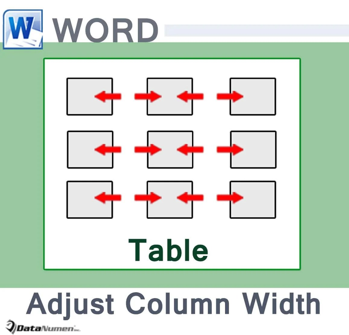word table