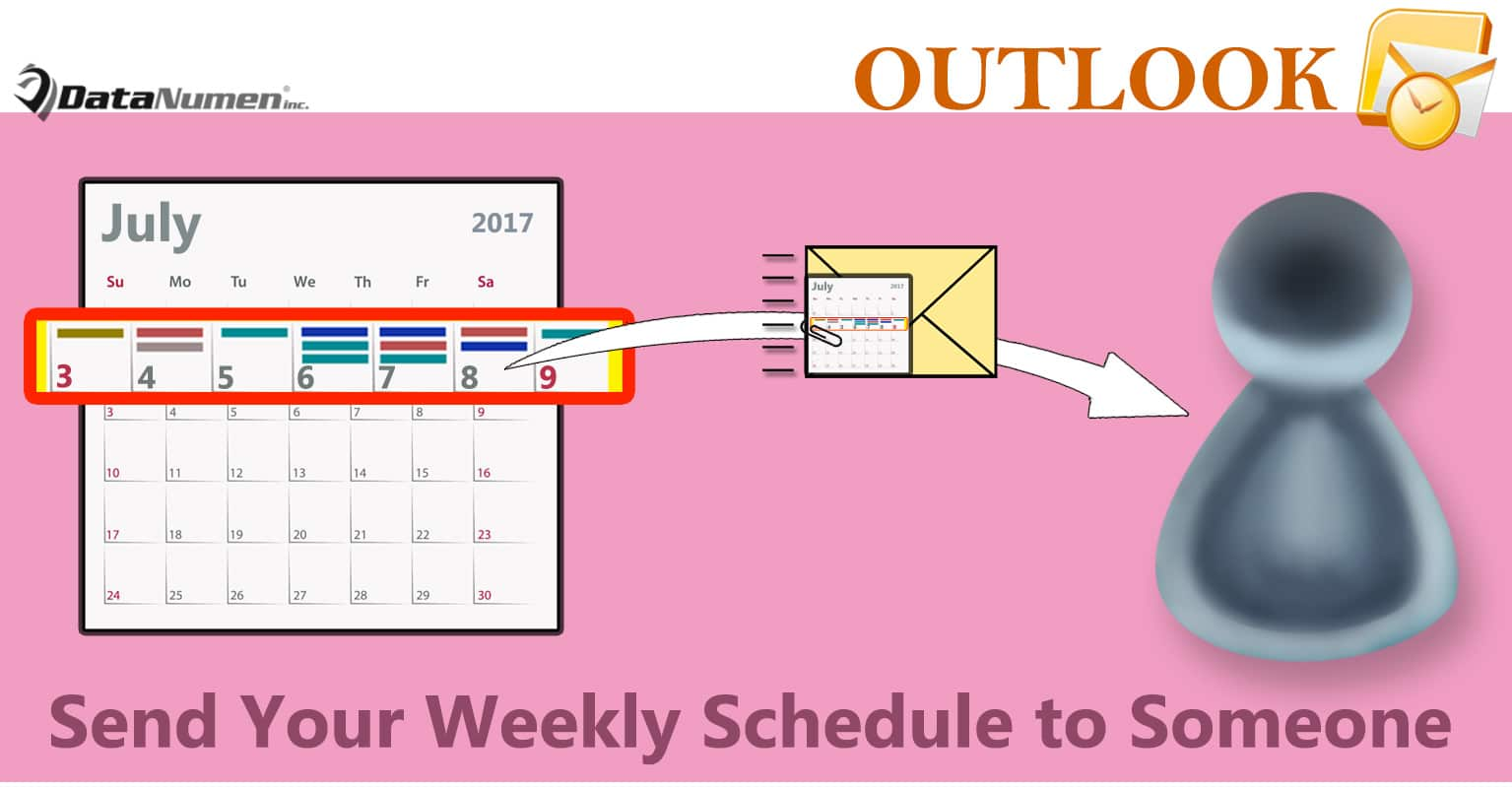 How to Auto Send Your Weekly Schedule to Someone Else via an