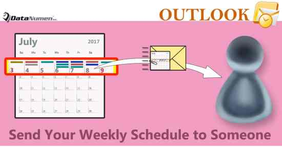 Auto Send Your Weekly Schedule to Someone Else via an Outlook Email