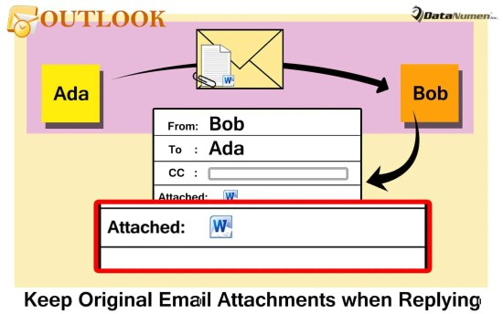 Keep the Original Email Attachments when Replying in Outlook