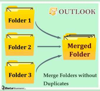 Quickly Merge Items from Multiple Folders without Duplicates in Outlook