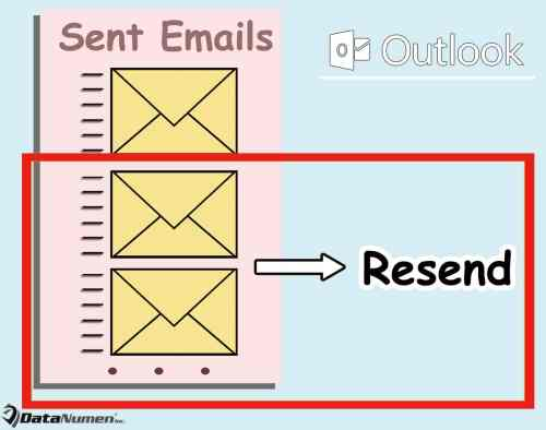 Batch Resend Multiple Emails in Your Outlook