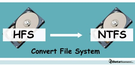 Convert a Hard Drive from HFS to NTFS without Losing Data
