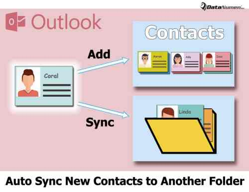 how to move outlook contacts