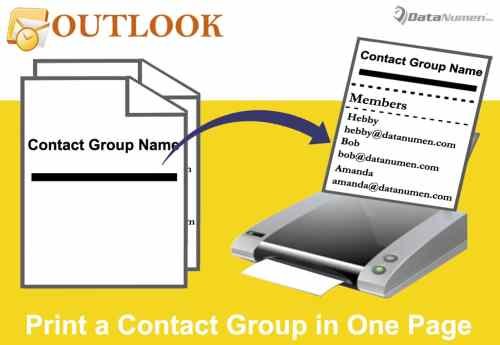 how to create a group contact in outlook