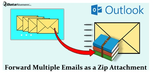 Quickly Add and Forward Multiple Emails as a Zip Attachment in Outlook