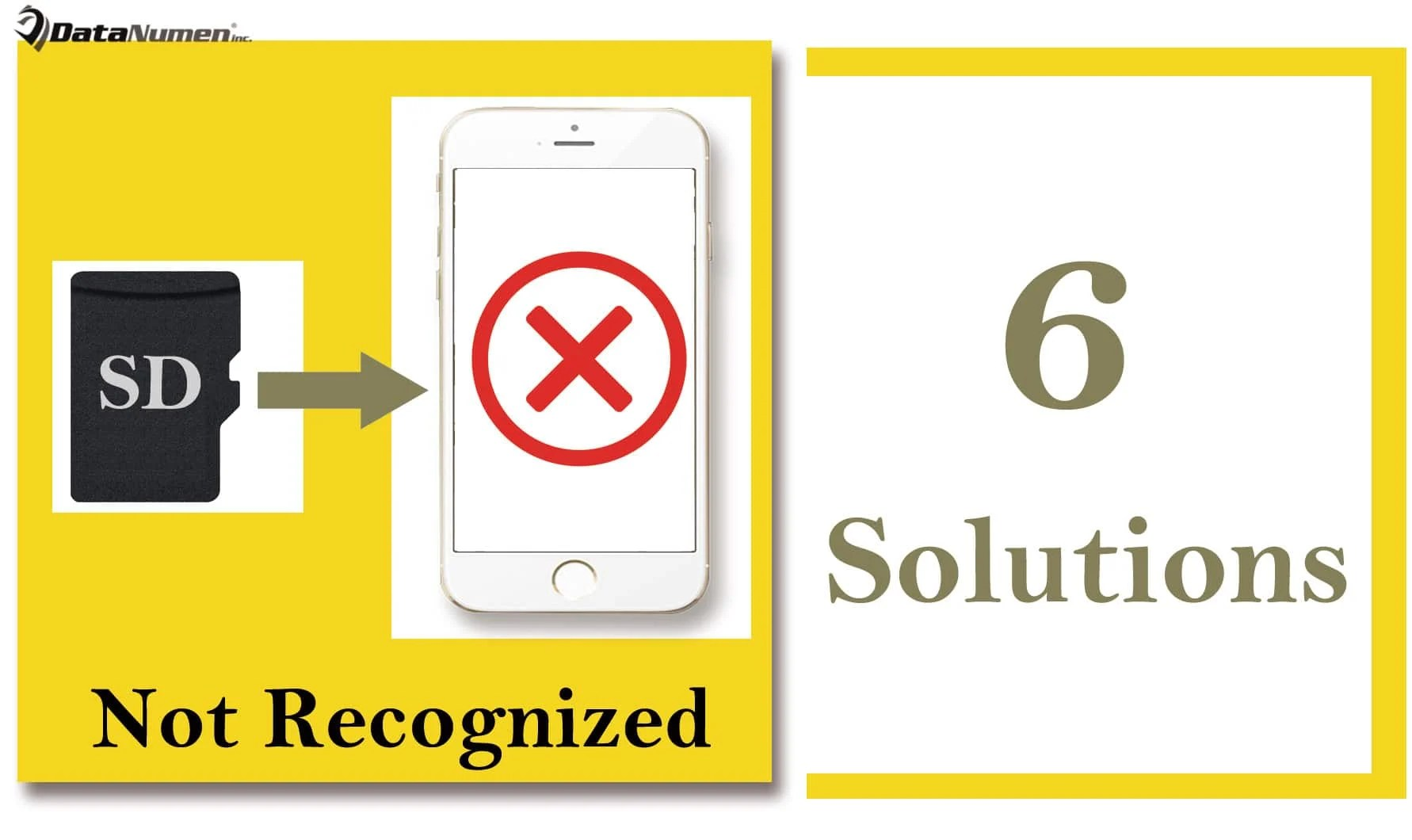 6 Solutions when a SD Card Cannot Be Recognized on a Smartphone