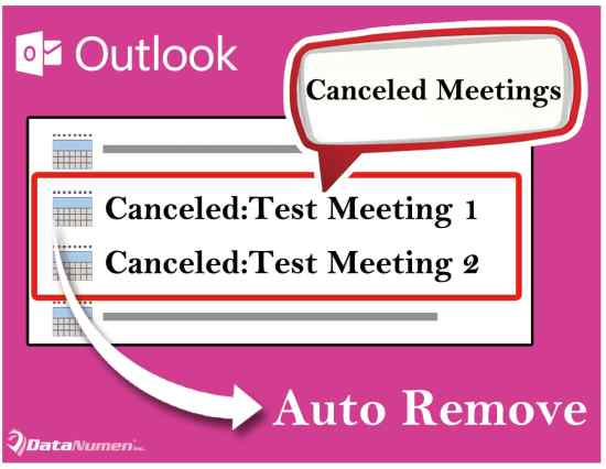 Auto Remove Canceled Meetings from Your Outlook Calendar