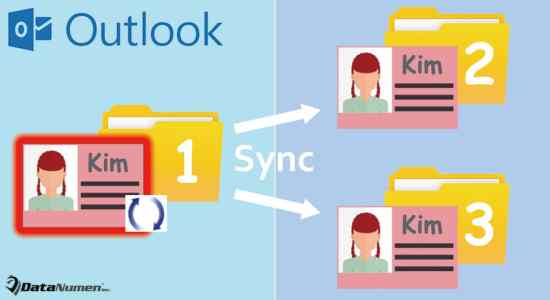 Auto Sync the Same Contact in All Folders in Your Outlook