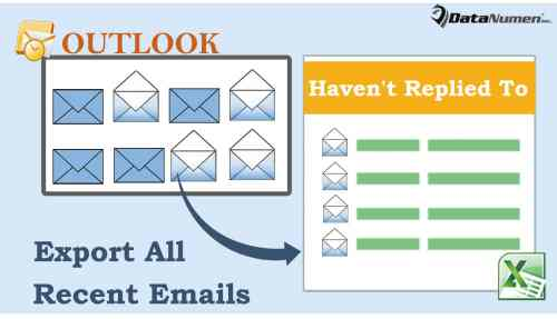 Quickly Export All Recent Emails You Haven't Replied To in Outlook