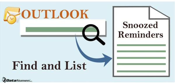 Quickly Get a List of the Snoozed Reminders in Your Outlook
