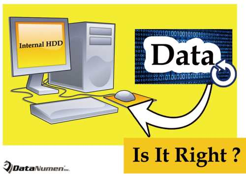 Is It Right to Back up to an Internal Hard Drive?