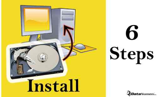 6 Steps to Safely Install a New Hard Drive in Your Desktop Computer