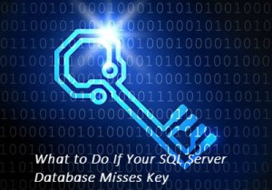 What To Do If Your SQL Server Database Misses Key