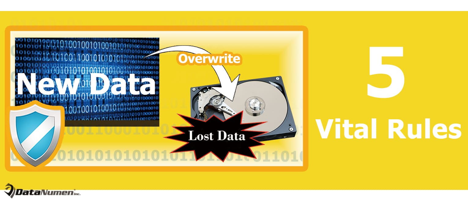 5 Vital Rules You Must Follow to Prevent Overwriting Lost Data