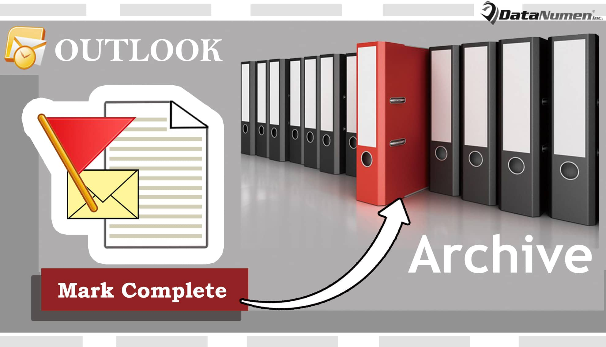 Auto Archive a Flagged Email after Marking It Complete in Your Outlook