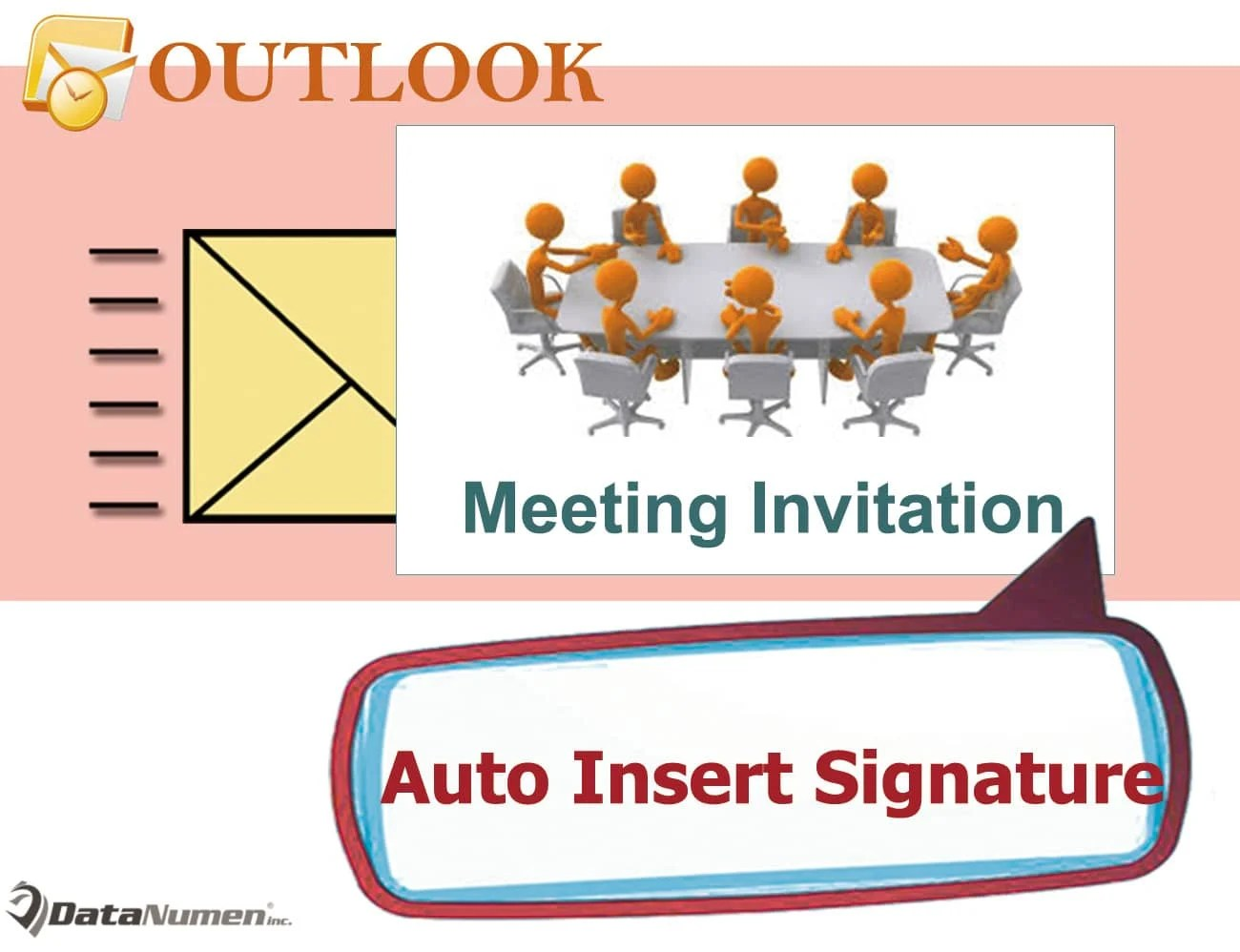 Auto Insert Signature to Meeting Invitations in Outlook