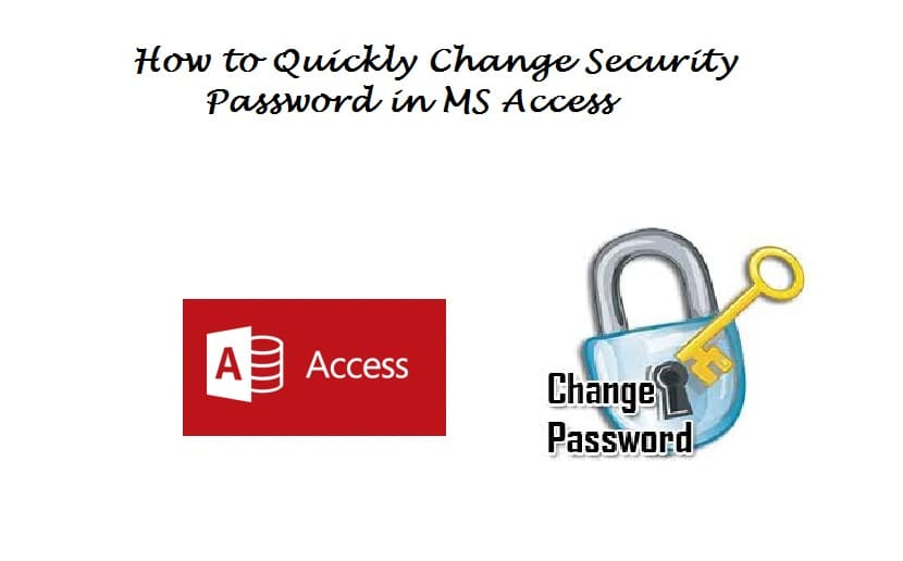Change Security Password In MS Access